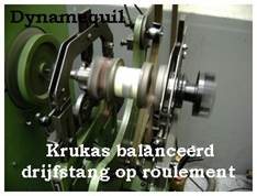 Description : Description : Balanceren van krukas voor Jet-ski bij Dynamaequil